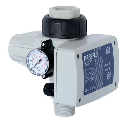 PRESFLO - ELECTRONIC PRESSURE AND FLOW MONITOR FOR GARDEN AND WELL PUMPS